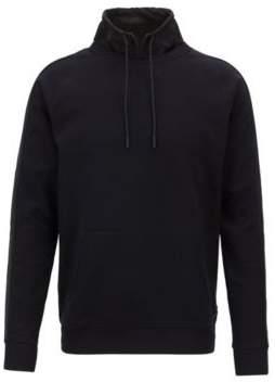 BOSS Hugo Water-repellent sweatshirt detachable stand collar S Open Blue