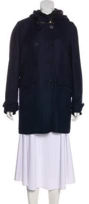 See by Chloe Hooded Wool Coat