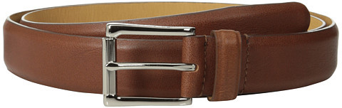 Cole Haan Cole Haan 32mm Burnished Edge Mill Egyptian Cow Belt
