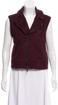 Rag & Bone Wool Zip-Up Vest