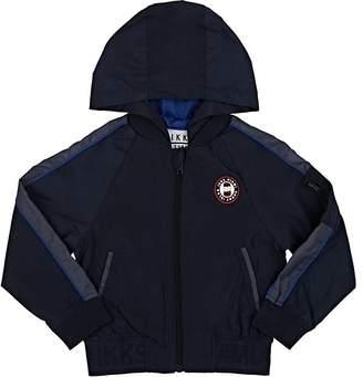 Ikks Kids' Hooded Tech-Fabric Zip-Front Jacket
