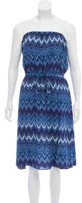 Figue Printed Sleeveless Mini Dress