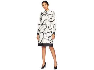 Lauren Ralph Lauren Print Twill Shirtdress