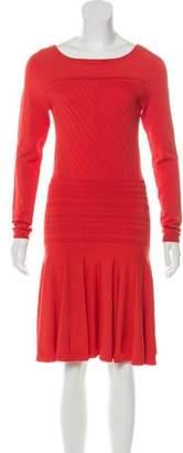 Diane von Furstenberg Delta Fit-and-Flare Dress