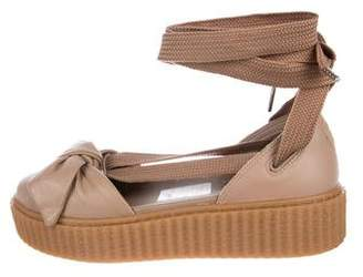 FENTY PUMA by Rihanna 2017 Bow Creeper Sandals