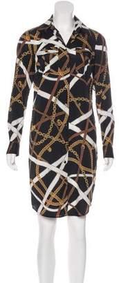 MICHAEL Michael Kors Trompe L'oeil Knee-Length Dress