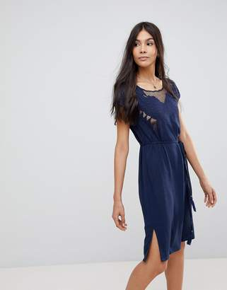 Sugarhill Boutique Butterfly Cutwork Embroidered Dress