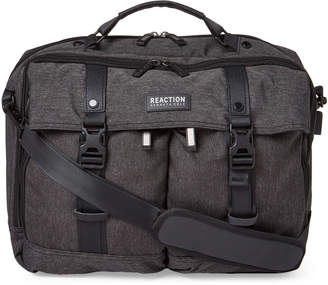 Kenneth Cole Reaction Charcoal Port-On Me Laptop Messenger Bag