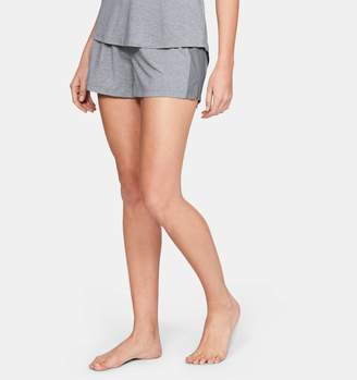 Under Armour Women's Athlete Recovery Sleepwear Shorts