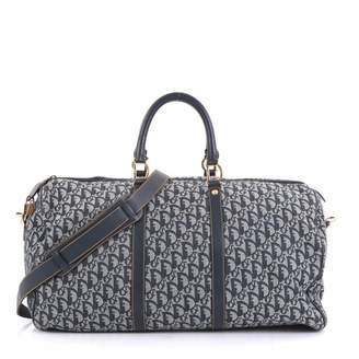 883188eb1 Christian Dior Vintage Blue Cloth Travel Bag