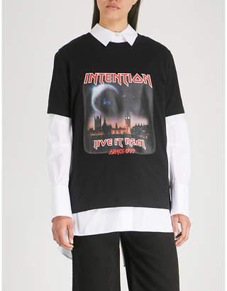 Izzue Photo-print cotton-jersey T-shirt