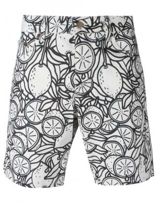 Ami Alexandre Mattiussi lemon print bermuda shorts $260 thestylecure.com