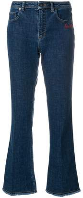 Sonia Rykiel cropped flare jeans