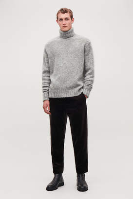 Cos CHUNKY ROLL-NECK JUMPER
