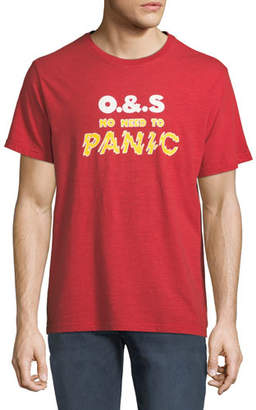 Ovadia & Sons Men's Panic Graphic T-Shirt, Red