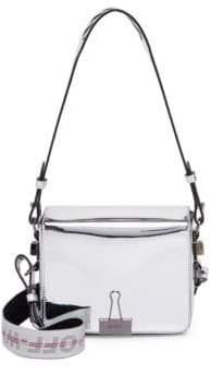 Off-White Mirror Flap Bag