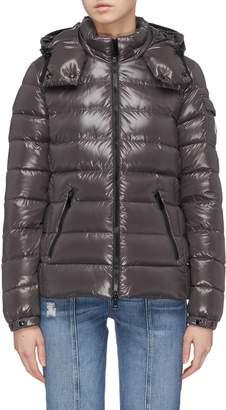 Moncler 'Bady' detachable hood down puffer jacket
