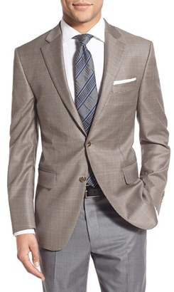 Men's Peter Millar Classic Fit Houndstooth Wool Sport Coat $595 thestylecure.com