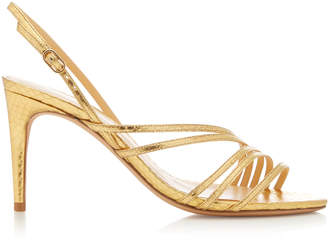 Alexandre Birman Shanty Exotic Watersnake Sandals