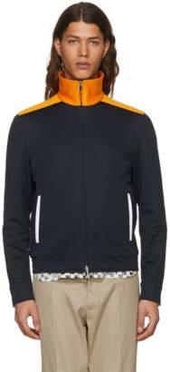 Valentino Navy and Orange Track Jacket