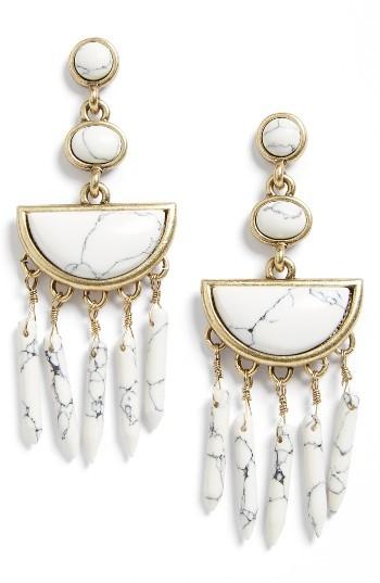 Women's Baublebar Nora Drop Earrings
