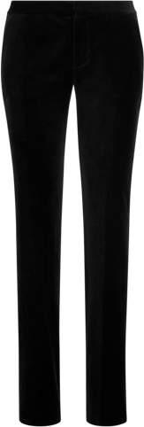 Velvet Straight Trouser