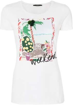 Max Mara graphic print T-shirt