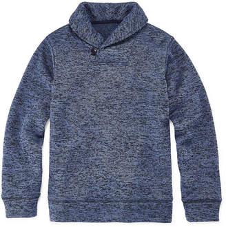 Arizona Collar Neck Long Sleeve Pullover Sweater Boys 4-20