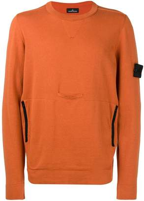 Stone Island round neck sweatshirt