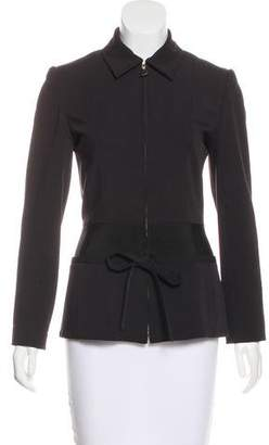 Christian Dior Tailored Zip-Up Jacket