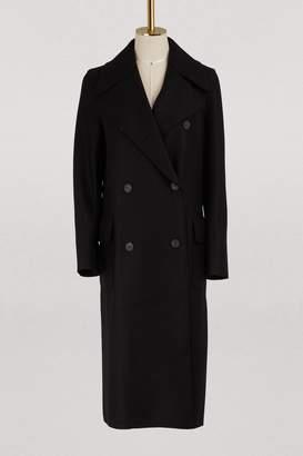 Harris Wharf London Virgin wool D.B. Military coat