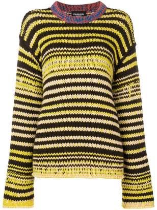 Calvin Klein television knit jumper