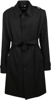 Dolce & Gabbana Single Breasted Trench