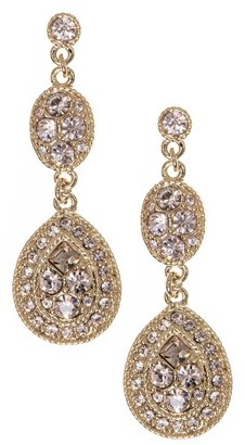Women's Givenchy Crystal Drop Earrings $48 thestylecure.com