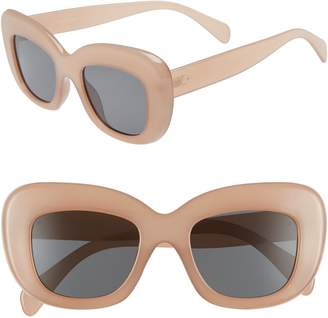 Leith 50mm Square Sunglasses