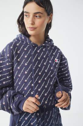 Champion Reverse Weave All Over Print Hoodie Sweatshirt