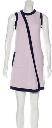Chanel Sleeveless Cashmere Dress