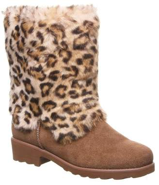BearPaw Regina Faux Fur Suede Boot