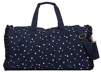 fb759e92611 ... ban.do Getaway Ruffle Dotted Duffel Bag