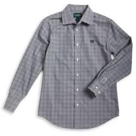Lauren Ralph Lauren Boy's Plaid Dress Shirt