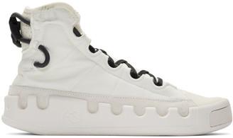 Y-3 White Kasabaru Sneakers