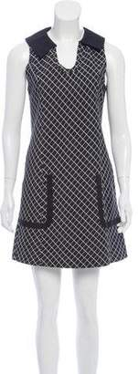 Tibi Sleeveless Printed Dress w/ Tags