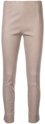 Schumacher Dorothee skinny leather trousers