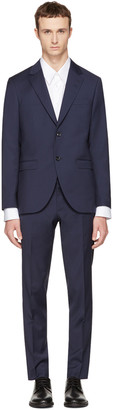 Tiger of Sweden Navy Wool Lamonte Suit $900 thestylecure.com