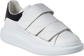 sale retailer 9a047 403ec Alexander McQueen Velcro Oversole Leather Sneaker