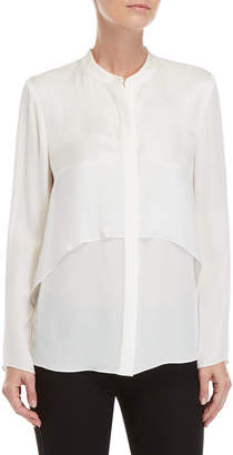 Chelsea And Walker Ivory Bishop Layered Blouse