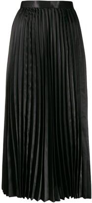 Junya Watanabe high-waisted pleated skirt