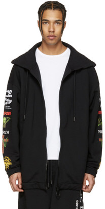 Off-White Black Mix Rock Hoodie $600 thestylecure.com