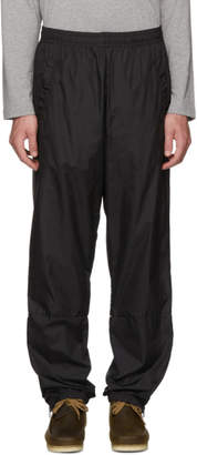 Acne Studios Black Nylon Face Lounge Pants