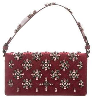 Tory Burch Beaded Mini Shoulder Bag
